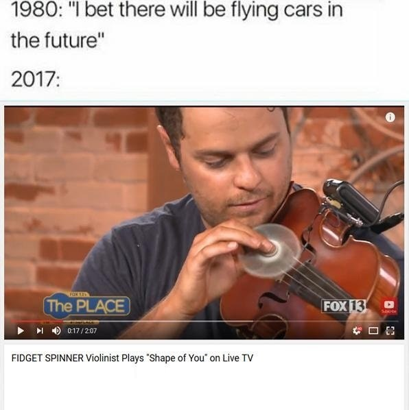 1980 I Bet There Violin Meme