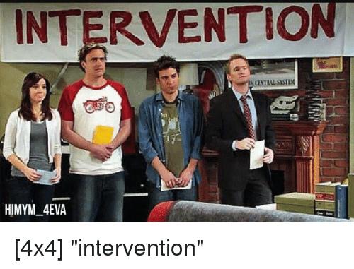 4X4 Intervention Intervention Meme
