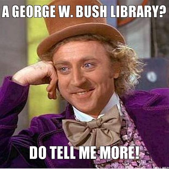 A George W.Bush George Meme