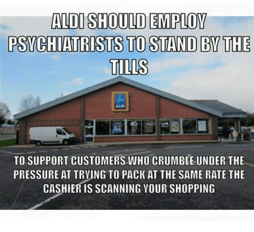 Aldi Should Employ Aldi Meme