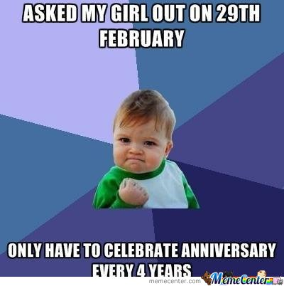 Asked My Girl Out February Meme