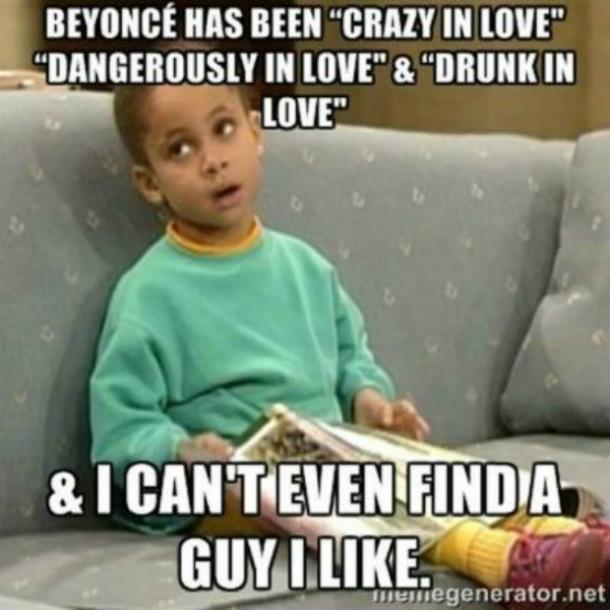 Beyonce Has Been Being Single Meme