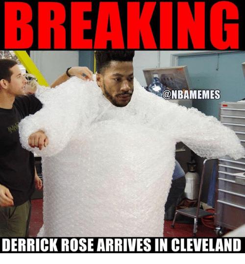 Breaking Derrick Rose Derrick Rose Memes