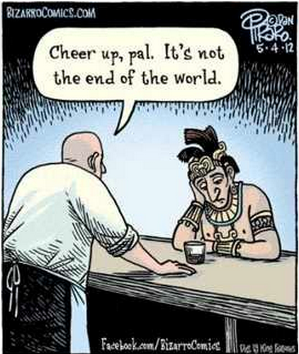 Cheer Up Pal End Of The World Meme