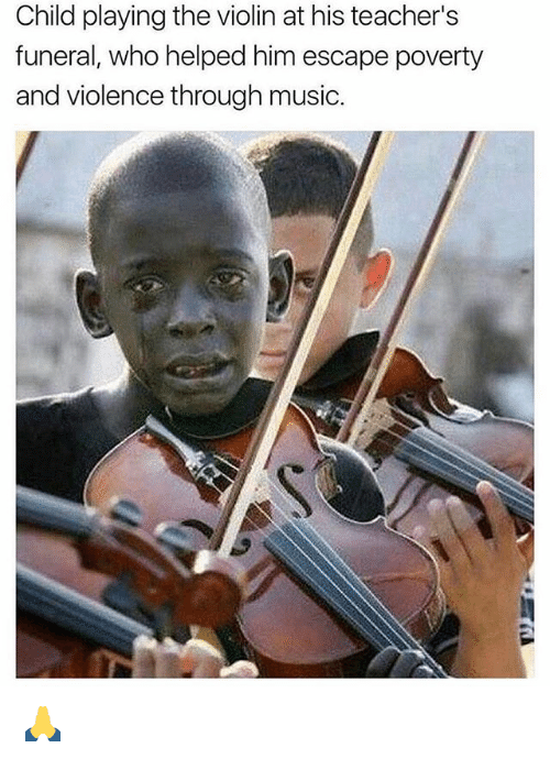Child Playing The Violin Meme