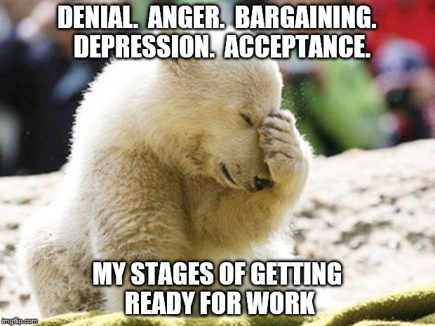 Daniel Anger Bargaining Depression Polar Bear Meme
