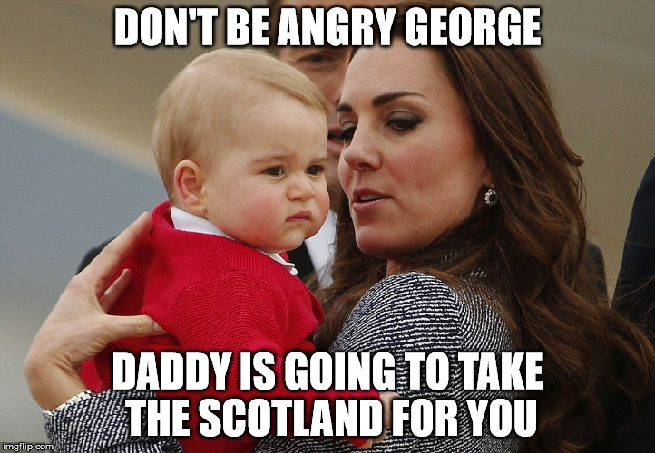 Don't Be Angry George Meme