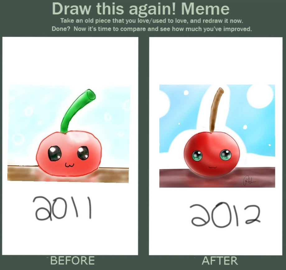 Draw This Again! Take An Old Cherry Meme