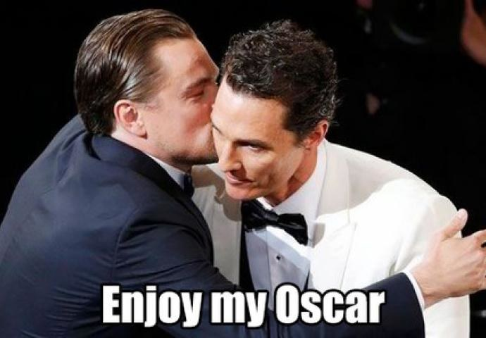 Enjoy My Oscar Leo Meme