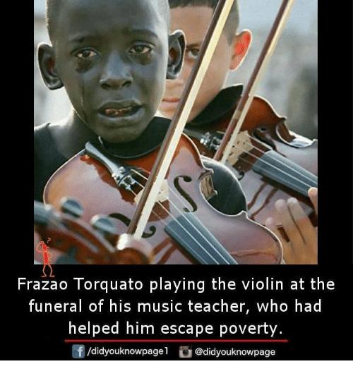 Frazao Torquato Playing Violin Meme