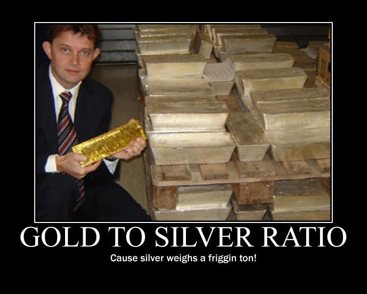 Gold To Silver Ratio Gold Meme