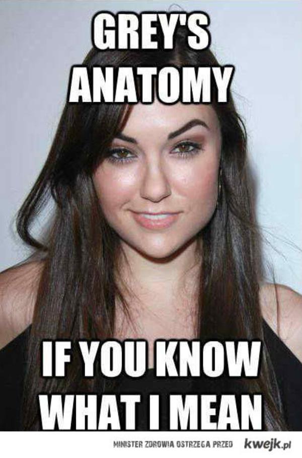 Grey's Anatomy If You Know Grey Meme
