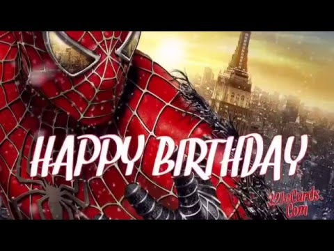 Happy Birthday Spiderman Happy Birthday Meme