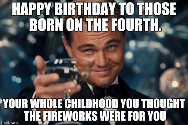 Happy Birthday To Those July Meme