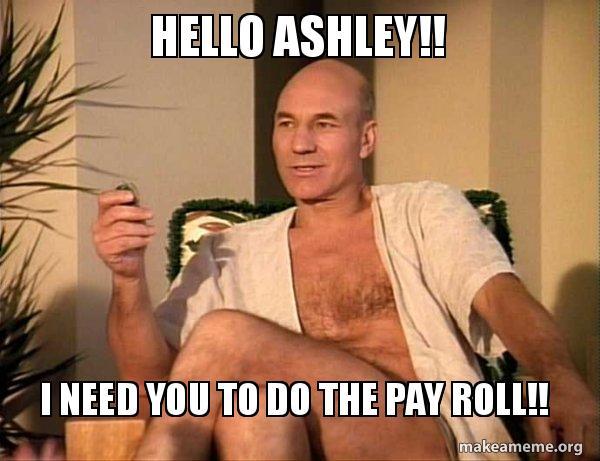 Hello Ashley!! I Need Ashley Meme