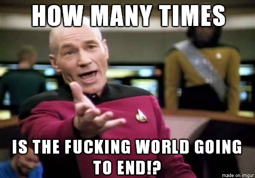 How Many Times End Of The World Meme