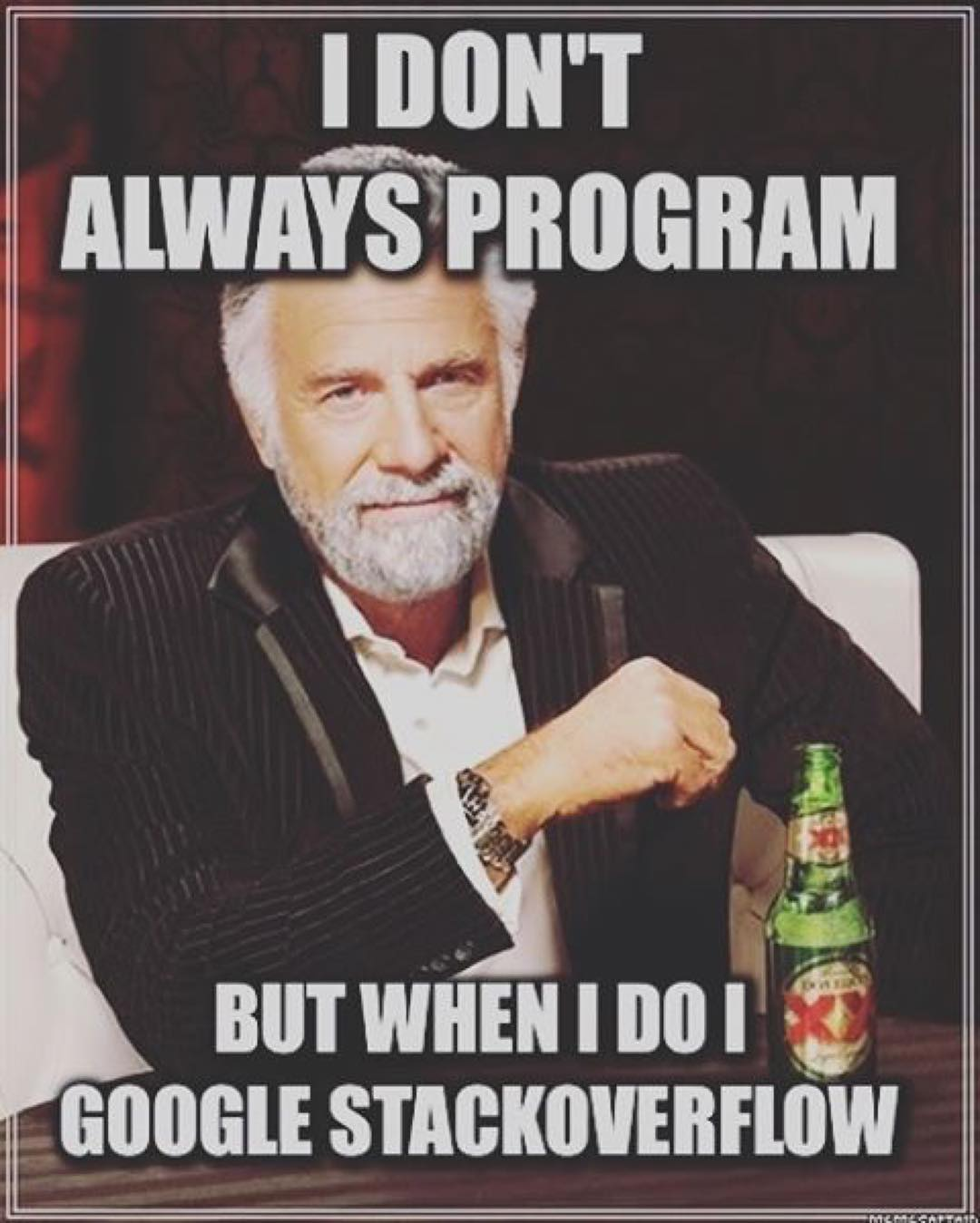 I Don't Always Program Ruby Meme