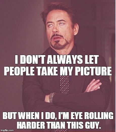I Don't Always Robert Downey Jr Meme