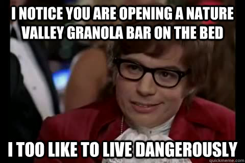 I Notice You Nature Valley Meme