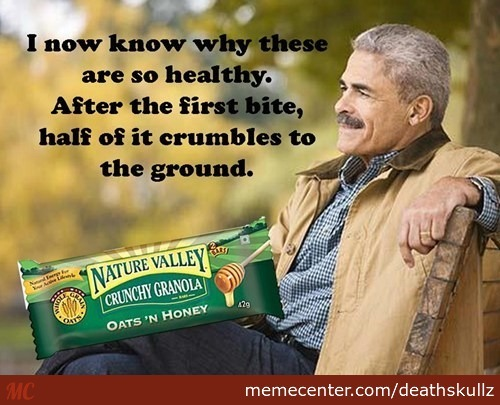 I Now Know Nature Valley Meme