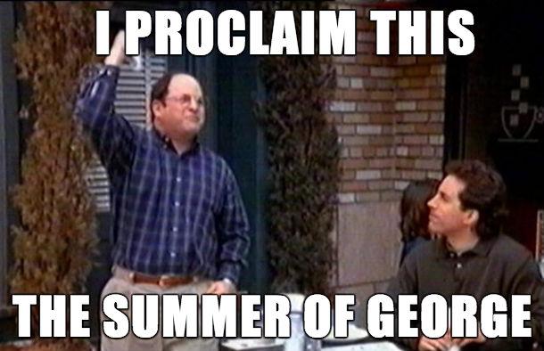 I Procaim This George Meme