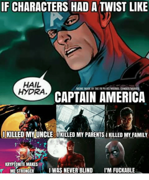 Image for Meme Captain America Wood