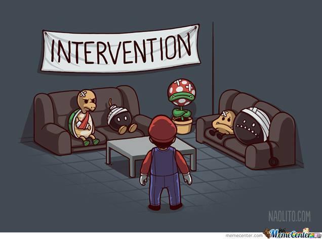 Intervention Intervention Meme