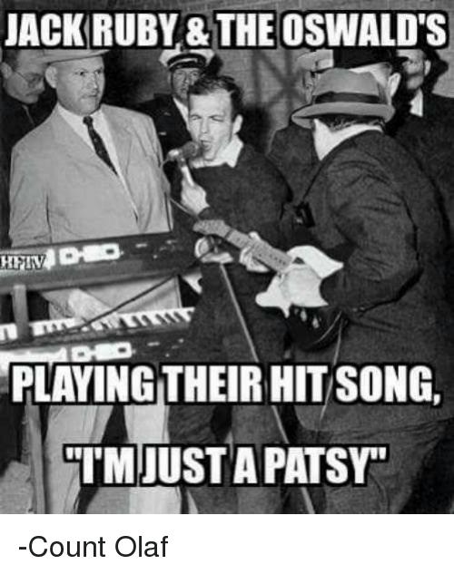 Jack Ruby The Oswald's Ruby Meme