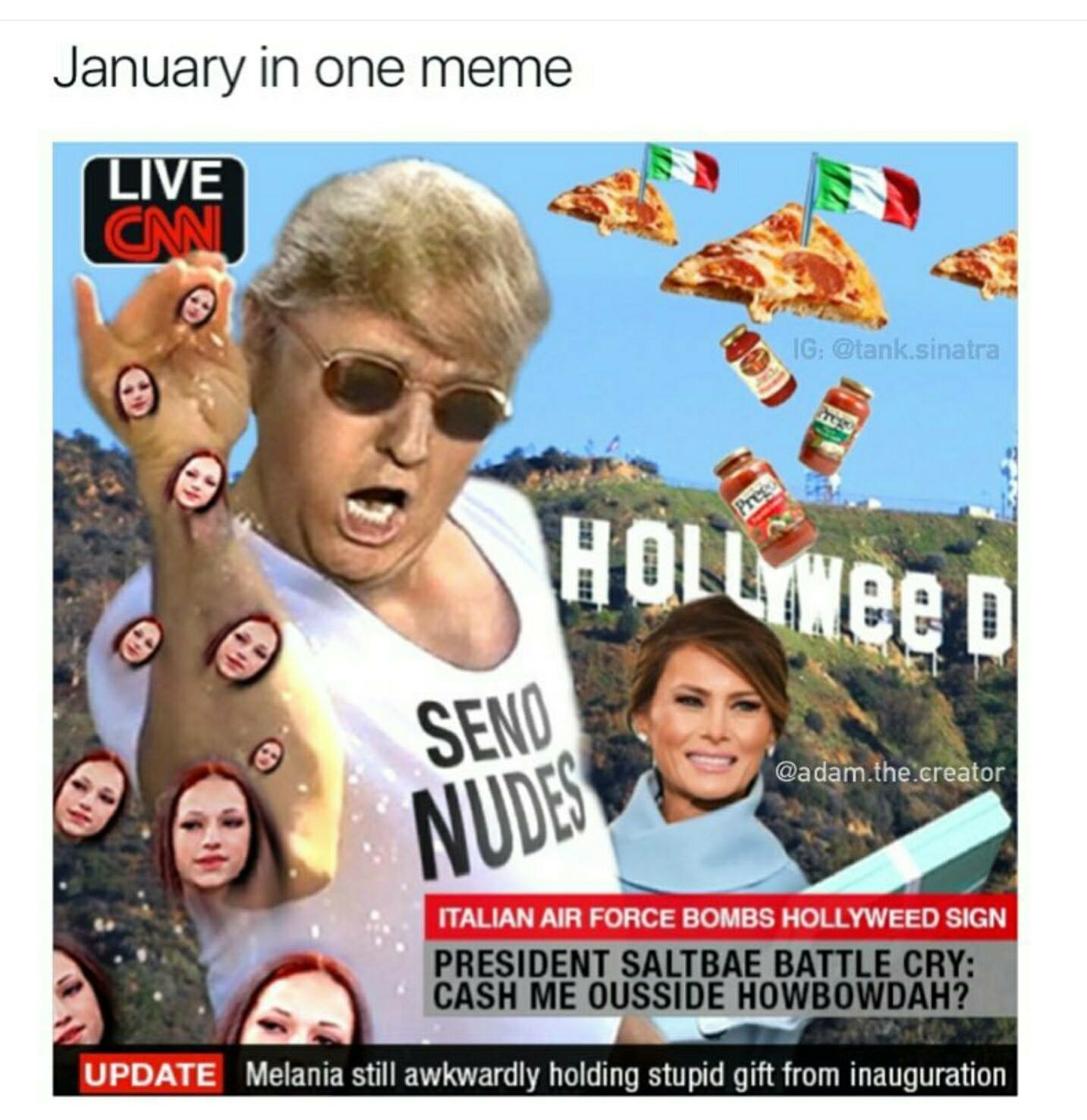 January In One Meme January Meme