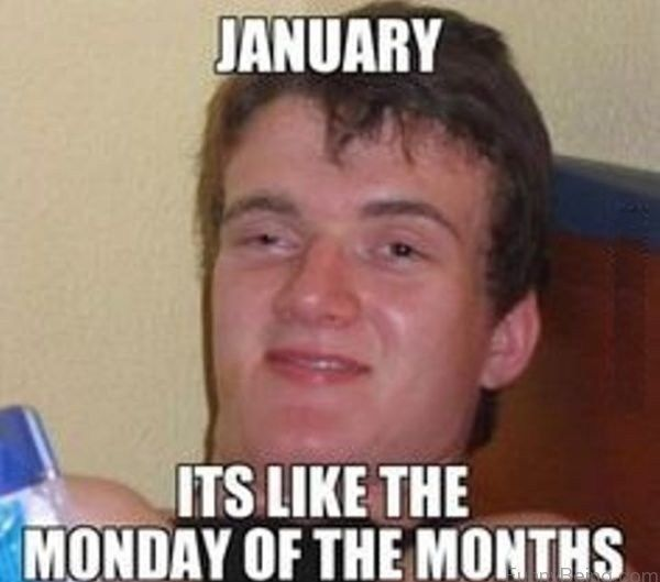 January Its Like The January Meme