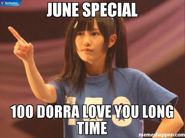June Special 100 Dorra June Meme