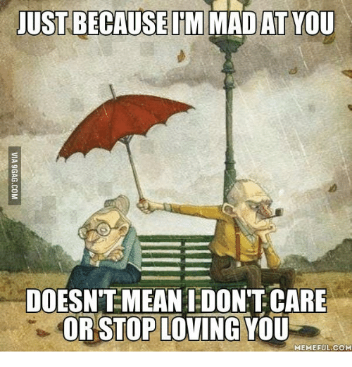 Just Because I'm Mad Love Meme