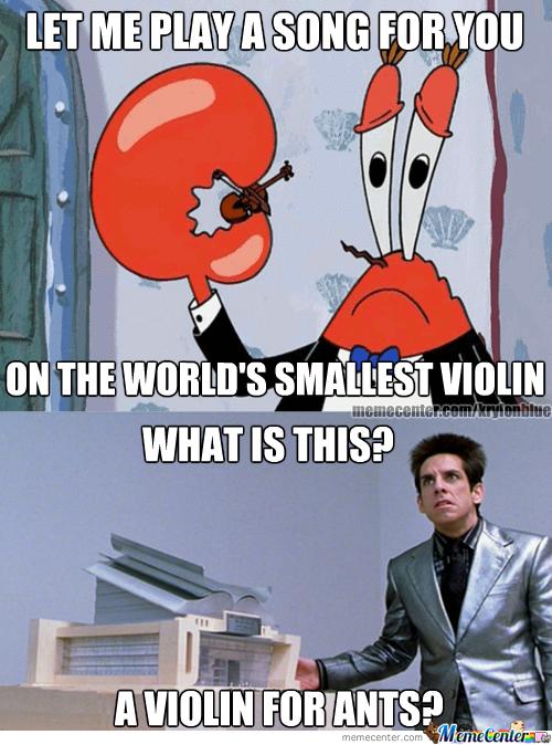 Let Me Play Violin Meme
