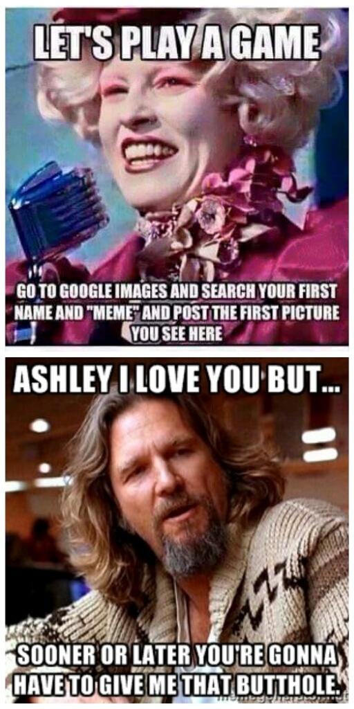 Let's Play A Ashley Meme