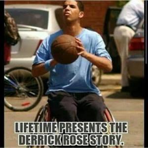 Lifetime Presents The Derrick Rose Memes