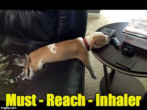 Must Reach Inhaler Asthma Memes