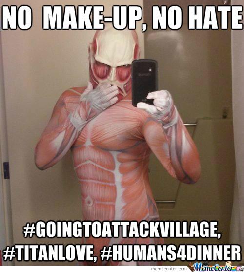 No Make Up No Hate Cancer Meme