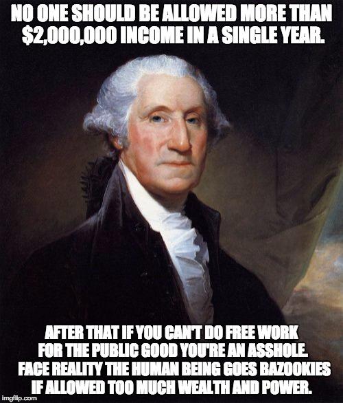 No One Should George Meme