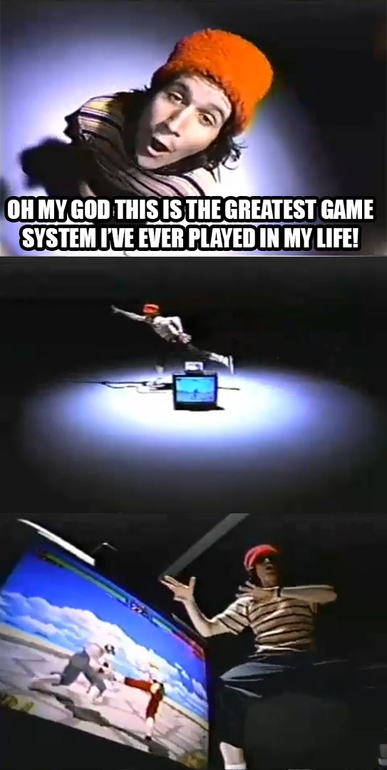 Oh My God This Is The Greatest Game Saturn Meme