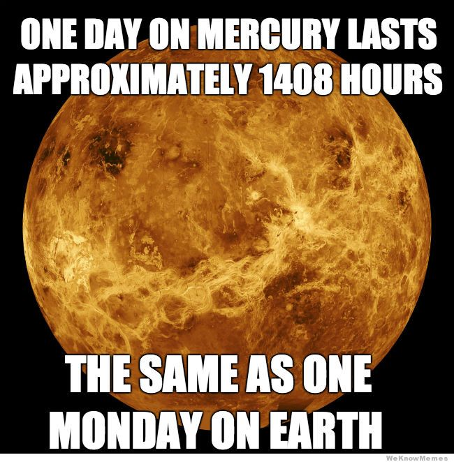 One Day One Mercury Monday Meme