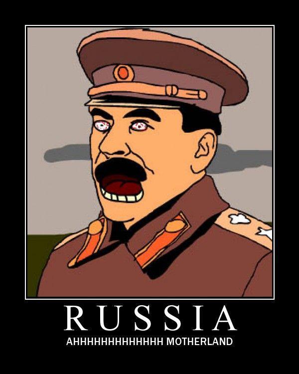 Russia Ahhhhhhh Motherland End Of The World Meme