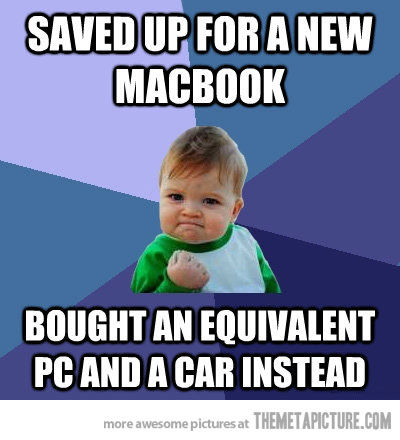 Saved Up For A New Apple Meme