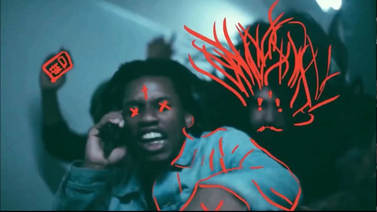 Scary Denzel Curry Ultimate Meme
