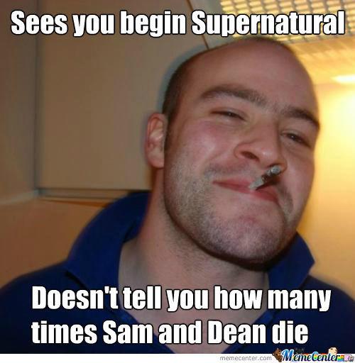 Sees You Begin Supernatural Ruby Meme