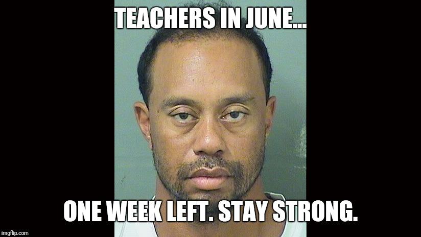 Teachers In June One June Meme