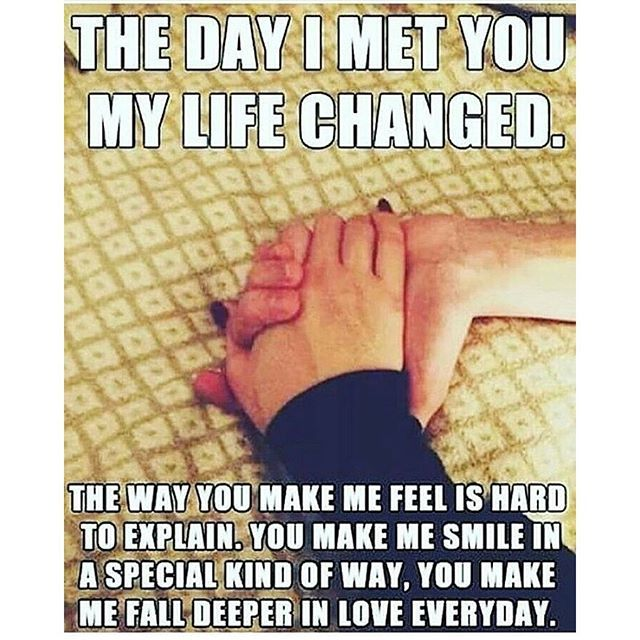 The Day I Met Love Meme