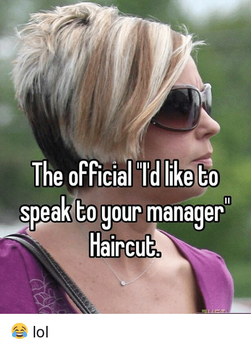 The Official I'd Can I Speak To The Manager Meme