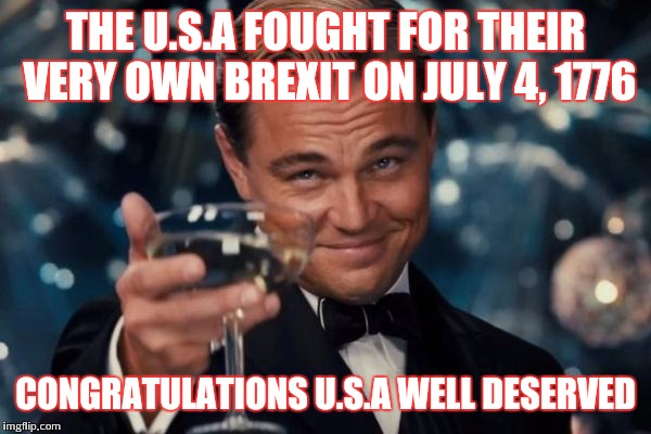 The USA Fought For July Meme