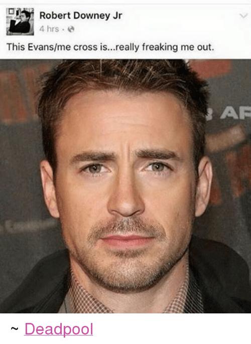 This Evans Me Robert Downey Jr Meme