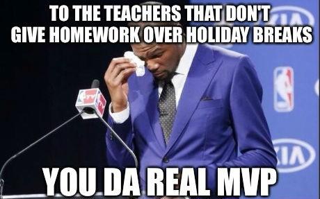 To The Teachers You The Real Mvp Meme